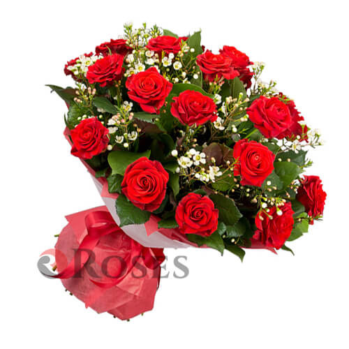 """Bouquet """"Basque Country"""" 19 roses"""