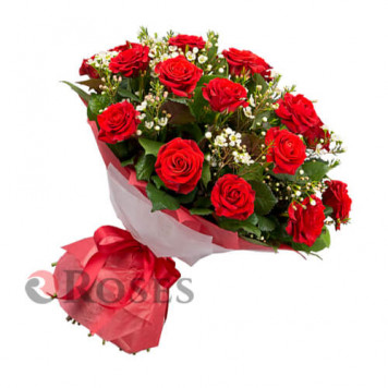 "Bouquet ""Basque Country"" 19 roses"