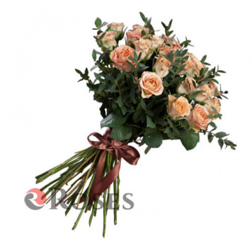 """Bouquet """"The Hill"""" 25 roses"""